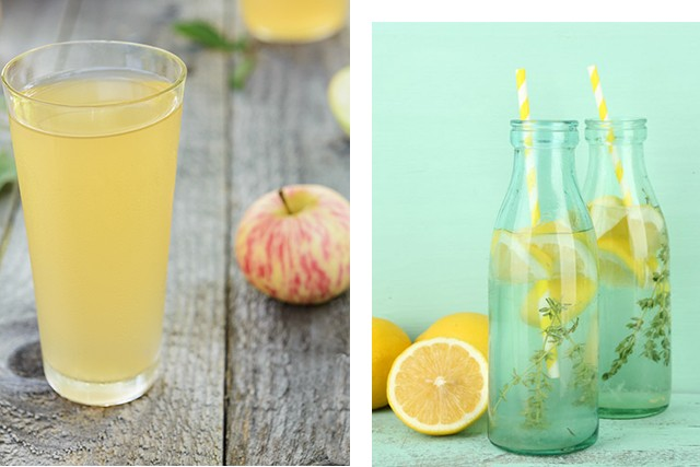 lemon juice vs apple juice