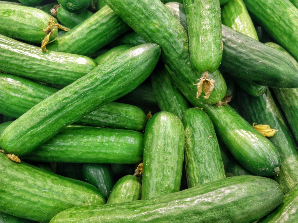 cucumber most healthy food