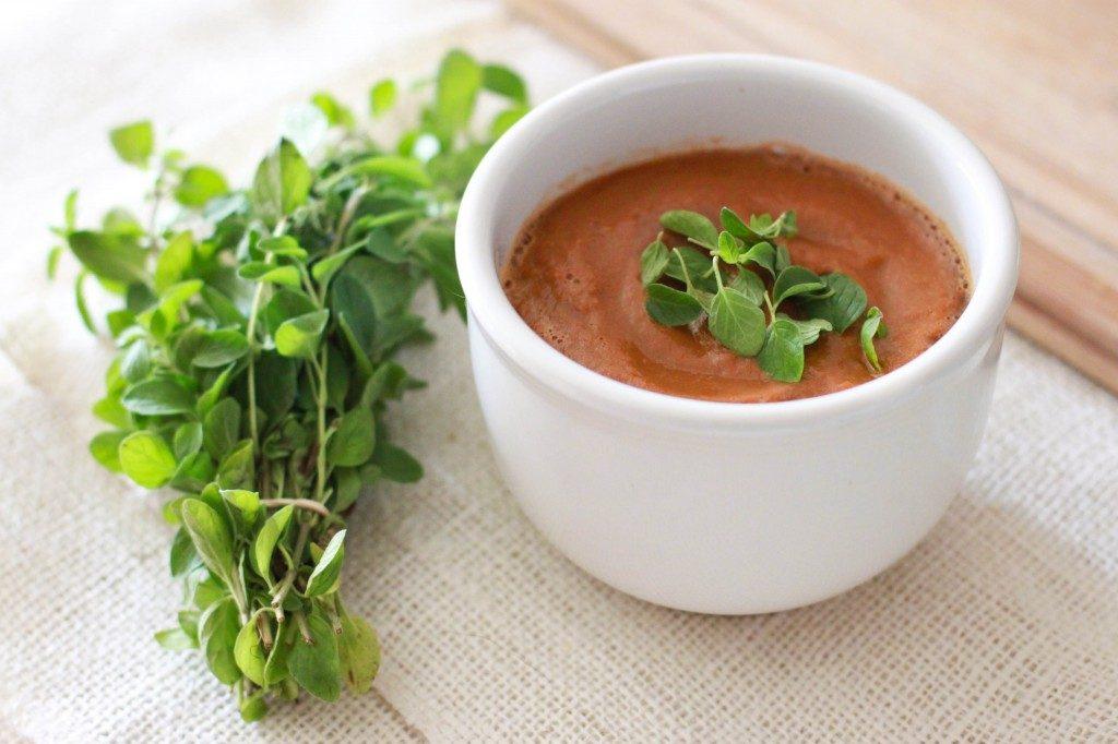 Vitamix tomato basil soup