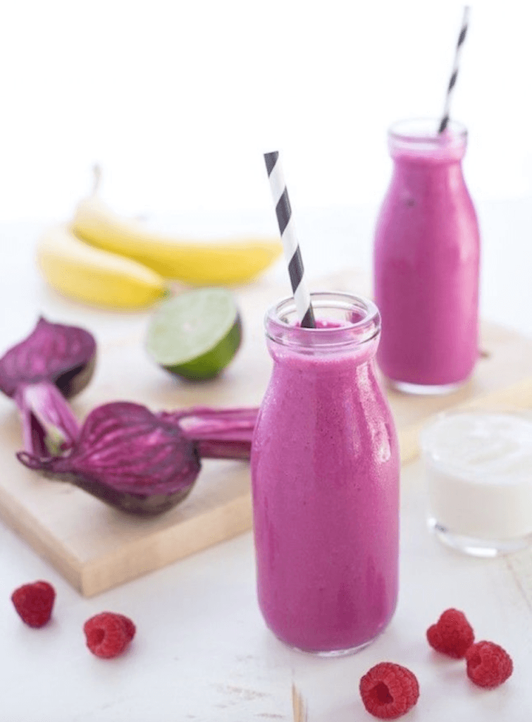 Berry And Beet Smoothies