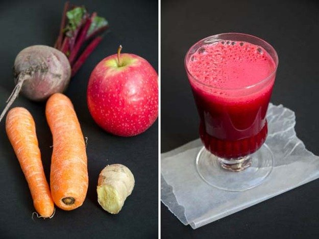 Root Veg Fruity Smoothie