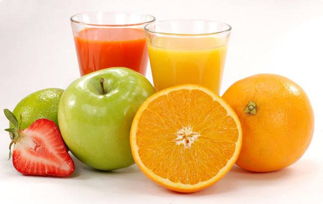 Apple Juice vs orange juice
