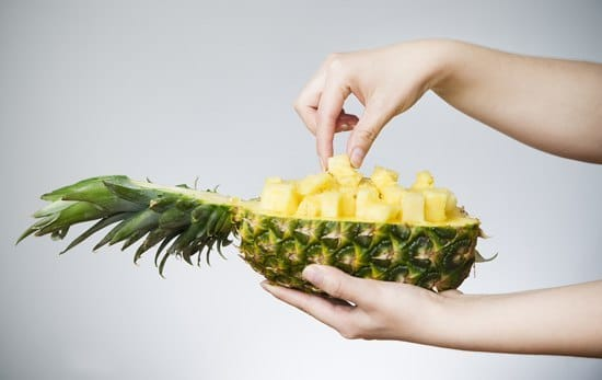 Can you eat the core of the pineapple
