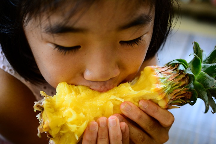 can you eat pineapple core